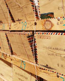 photo of lots of envelopes