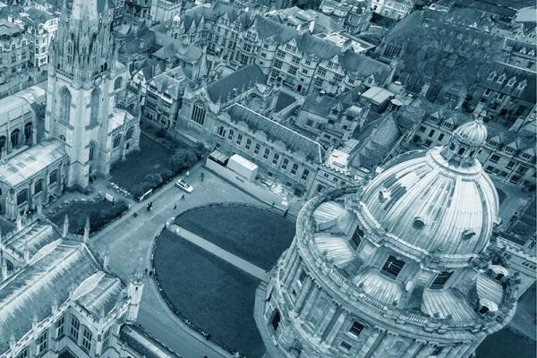 Oxford Radcliffe Camera view