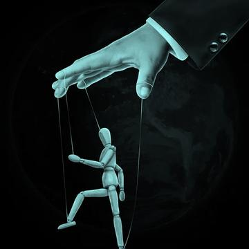 puppet on string